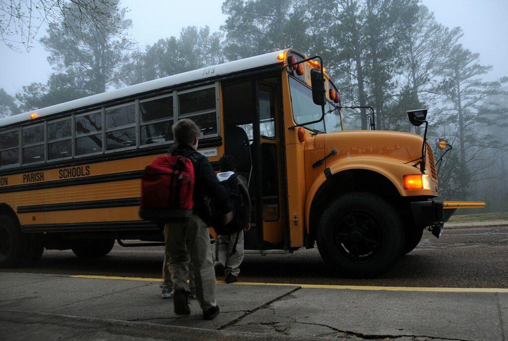 campaña de vigilancia y control del transporte escolar